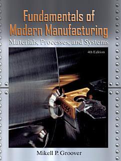 Fundamentals of Modern Manufacturing Book