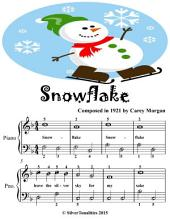 Snowflake - Easiest Piano Sheet Music Junior Edition