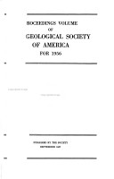 Proceedings Volume of the Geological Society of America for     PDF