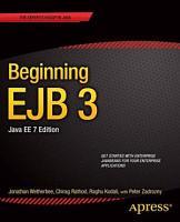 Beginning EJB 3 PDF