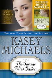 The Savage Miss Saxon (Alphabet Regency Romance)