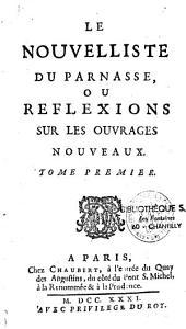 Le Nouvelliste du Parnasse ou réflexions sur les ouvrages nouveaux