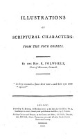 Illustrations of Scriptural Characters from the four Gospels PDF
