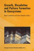 Growth  Dissolution and Pattern Formation in Geosystems PDF
