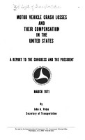 Motor Vehicle Crash Losses and Their Compensation in the United States PDF