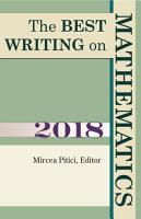 The Best Writing on Mathematics 2018 PDF