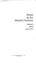Maps of the World's Nations: Africa