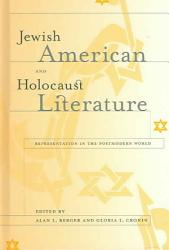 Jewish American And Holocaust Literature Book PDF