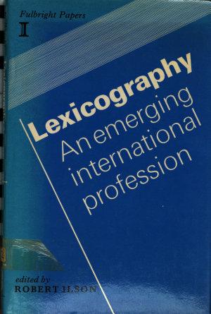 Lexicography PDF