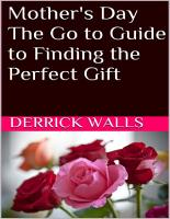 Mother s Day  The Go to Guide to Finding the Perfect Gift PDF