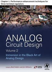 Analog Circuit Design Volume 2: Chapter 1. Performance enhancement techniques for three-terminal regulators