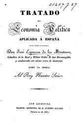 Tratado de Economia política aplicada á España