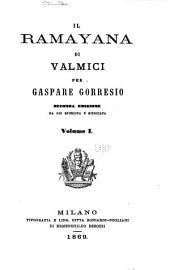Il Ramayana di Valmici: Volume 1