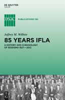 85 Years IFLA PDF
