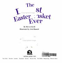 The Biggest Easter Basket Ever Book