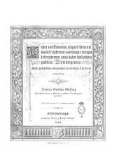 Index rarissimorum aliquot librorum manuscriptorum sæculoque 15. typis descriptorum quos habet bibliotheca publica Noribergensis additis quibusdam autographorum exemplis et picturis