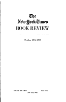 New York Times Saturday Review of Books and Art PDF