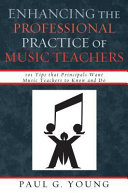 Enhancing the Professional Practice of Music Teachers