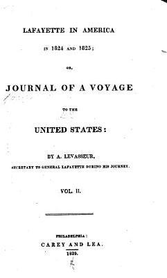 Lafayette in America in 1824 and 1825