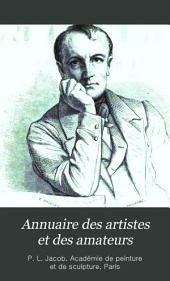 Annuaire des artistes et des amateurs: Volume1