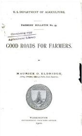 Good roads for farmers