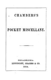 Chambers's Pocket Miscellany: Volume 5