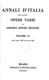 Annali d'Italia ed altre opere varie di Lodovico Antonio Muratori ...