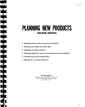 Planning New Products PDF