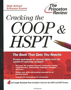 Cracking the COOP   HSPT Book