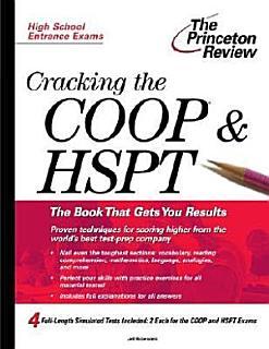 Cracking the COOP   HSPT Book