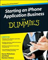 Starting an IPhone Application Business For Dummies PDF