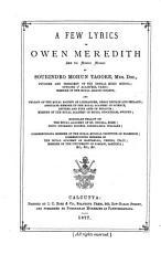 A Few Lyrics of Owen Meredith PDF