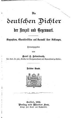 Ausgew  hlte deutsche Dichtungen     PDF