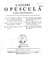 Opuscula analytica...