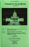 Vermont Year Book PDF