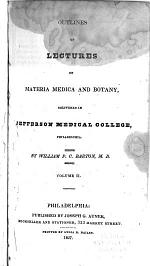 Outlines of Lectures on Materia Medica and Botany