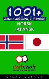 1001+ grunnleggende fraser norsk - japansk