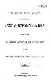 Executive Documents, Annual Reports: Part 1