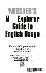 Webster's New Explorer Guide to English Usage