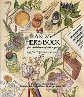 A Kid s Herb Book Book