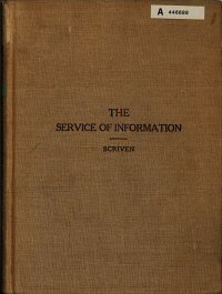 The Service of Information  United States Army PDF