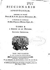 Diccionario apostólico ...: Volumen 11