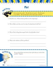 Read & Succeed Comprehension Level 3: Plot Passages and Questions