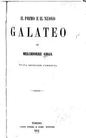 Il primo e il nuovo Galateo ...