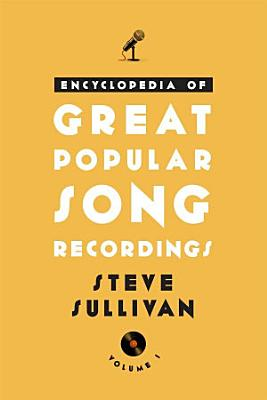 Encyclopedia of Great Popular Song Recordings PDF