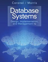 Database Systems: Design, Implementation, & Management: Edition 11