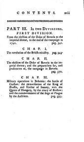 An impartial representation of the conduct of the several powers of Europe engaged in the late general war: including a particular account of operations, from 1739 to 1748
