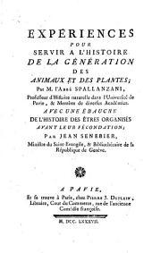 Opuscules de physique, animale et végétale: Volume3