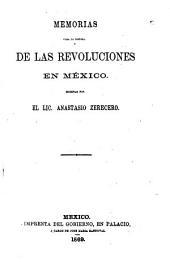 Memorias para la historia de las revoluciones en México: Volumen 1