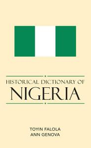 Historical Dictionary of Nigeria Book